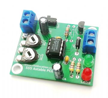 555 Astable Timer Project Self Build Kit